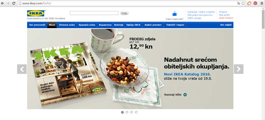 IKEA global template Croatia